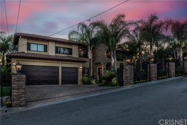 11853 Highwater Road, Granada Hills, CA 91344 (#SR17140934) :: The Brad Korb Real Estate Group