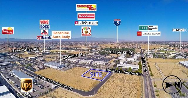 0 Business Center Drive, Victorville, CA 92395 (#OC17142774) :: Impact Real Estate