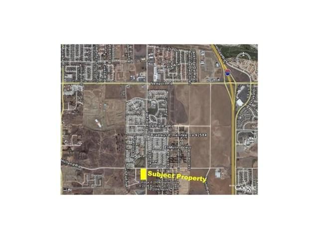 0 Bradley Road, Menifee, CA 92584 (#IV17157761) :: Kristi Roberts Group, Inc.