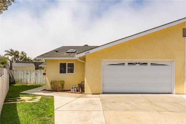 1298 Driftwood Street, Grover Beach, CA 93433 (#PI17161646) :: Pismo Beach Homes Team