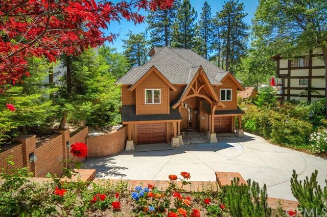 27961 North Shore Road, Lake Arrowhead, CA 92352 (#EV17162331) :: Angelique Koster
