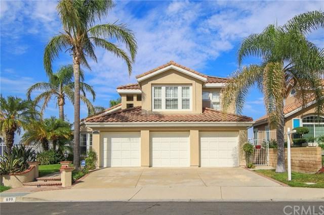 699 S Morningstar Drive, Anaheim Hills, CA 92808 (#AR17168560) :: Teles Properties
