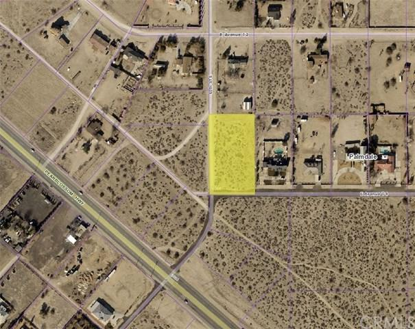 0 East Avenue T-4/60Th St East, Palmdale, CA 93543 (#BB17188178) :: Prime Partners Realty