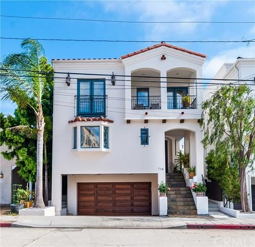 714 8th Place, Hermosa Beach, CA 90254 (#SB17187209) :: Erik Berry & Associates