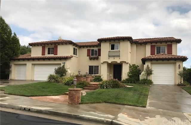 12220 Hondero Court, Granada Hills, CA 91344 (#SR17171438) :: Fred Sed Realty