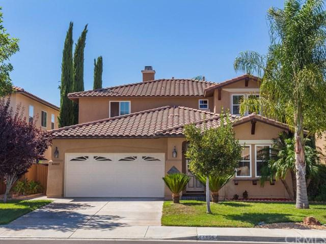44805 Rutherford Street, Temecula, CA 92592 (#SW17189994) :: The Val Ives Team