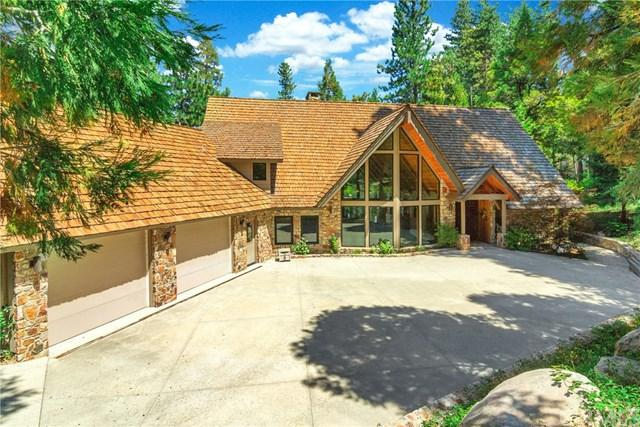 27804 Hamiltair Drive, Lake Arrowhead, CA 92352 (#EV17190293) :: Angelique Koster
