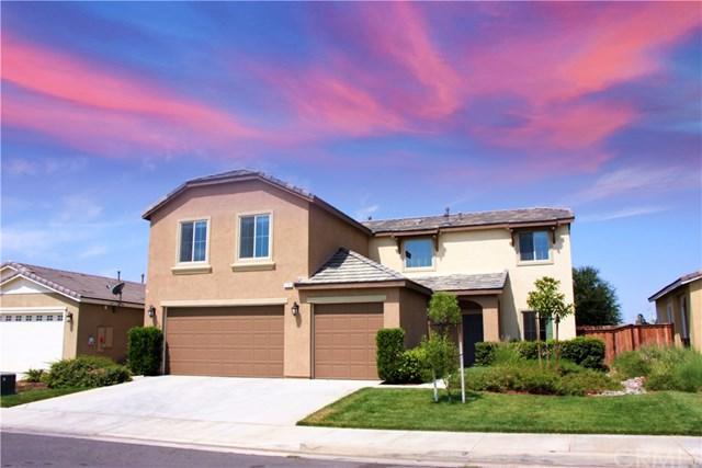 1151 Periwinkle Lane, Beaumont, CA 92223 (#CV17190417) :: Angelique Koster