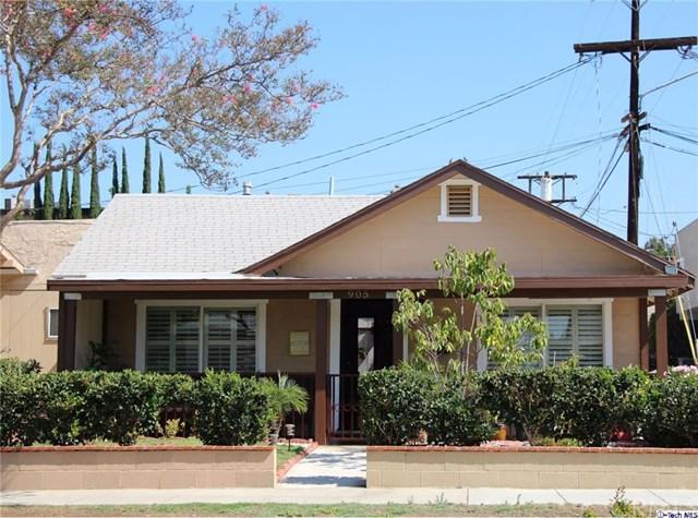 905 E Harvard Street, Glendale, CA 91205 (#317006084) :: The Brad Korb Real Estate Group