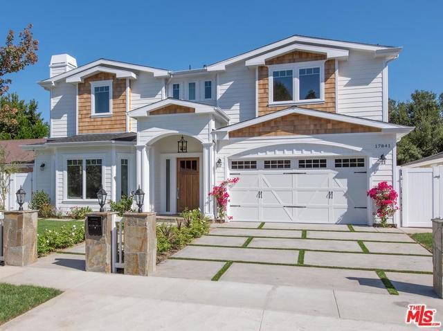 17841 Palora Street, Encino, CA 91316 (#17262176) :: Fred Sed Realty