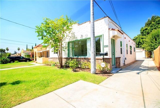 1743 Glen Avenue, Pasadena, CA 91103 (#CV17192523) :: TruLine Realty