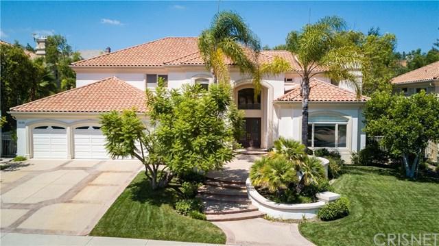 5324 Collingwood Circle, Calabasas, CA 91302 (#SR17162822) :: TruLine Realty