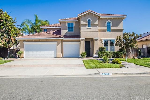 32414 Duclair Road, Winchester, CA 92596 (#SW17189211) :: The Val Ives Team