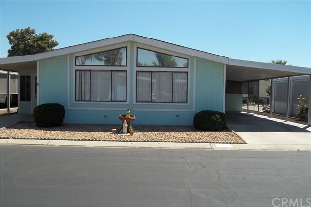 1250 N Kirby Street #74, Hemet, CA 92545 (#IV17194407) :: The Val Ives Team