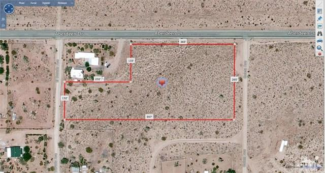 Aberdeen Drive, Yucca Valley, CA 92284 (#217021140DA) :: Kato Group