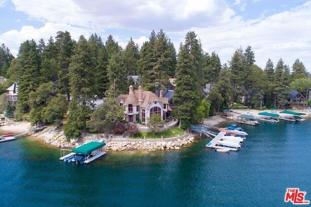 28055 Peninsula Drive, Lake Arrowhead, CA 92352 (#17266668) :: Angelique Koster