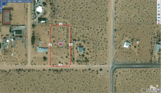 Golden Street, Joshua Tree, CA 92252 (#217023832DA) :: Carrington Real Estate Services