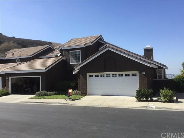 861 S Sapphire Lane, Anaheim Hills, CA 92807 (#PW17231765) :: RE/MAX New Dimension