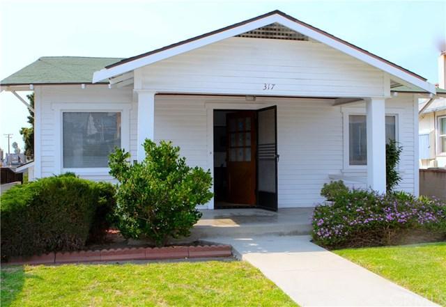 317 S Francisca Avenue, Redondo Beach, CA 90277 (#SB17235188) :: Keller Williams Realty, LA Harbor