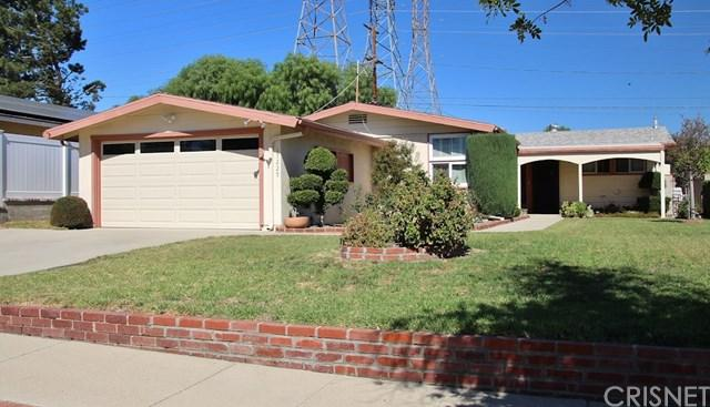 17227 Simonds Street, Granada Hills, CA 91344 (#SR17235389) :: Fred Sed Realty