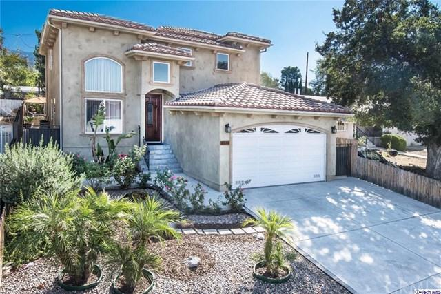 10444 Irma Avenue, Tujunga, CA 91042 (#317006906) :: The Brad Korb Real Estate Group
