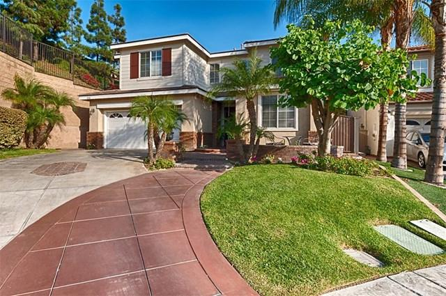 8294 E Kingsdale Lane, Anaheim Hills, CA 92807 (#PW17236006) :: RE/MAX New Dimension