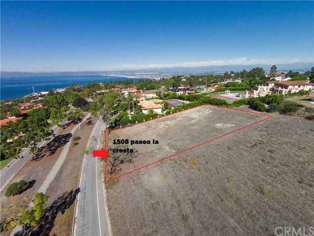 1508 Paseo La Cresta, Palos Verdes Estates, CA 90274 (#SB17236831) :: Millman Team