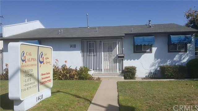 1418 S Euclid Street, Fullerton, CA 92832 (#PW17236871) :: RE/MAX New Dimension