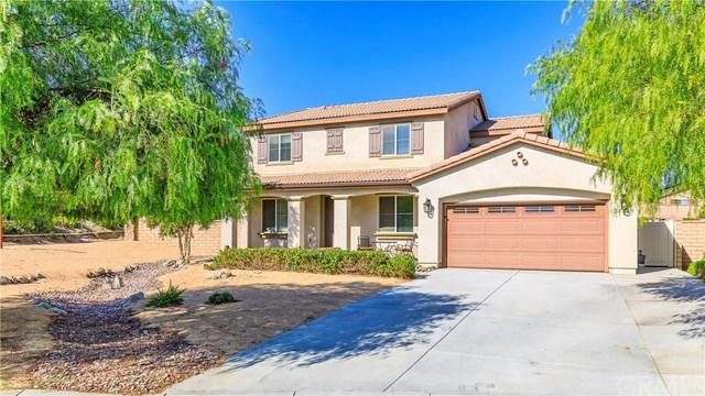 25029 Wild View Road, Menifee, CA 92584 (#SW17237333) :: The Val Ives Team