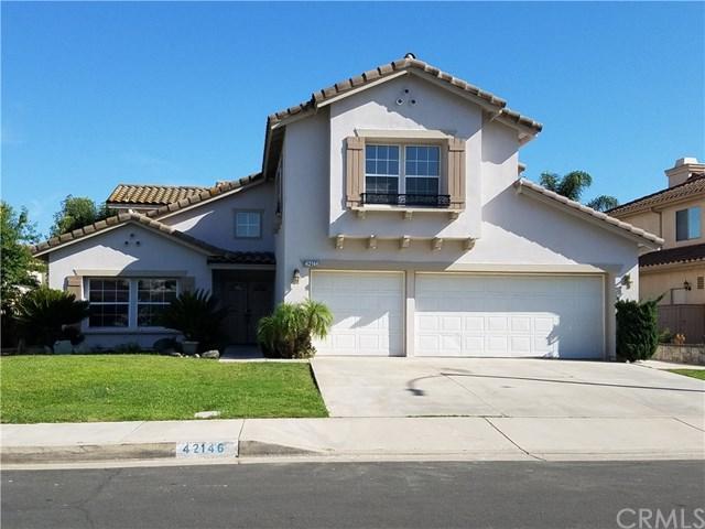 42146 Thoroughbred Lane, Murrieta, CA 92562 (#TR17240605) :: Allison James Estates and Homes