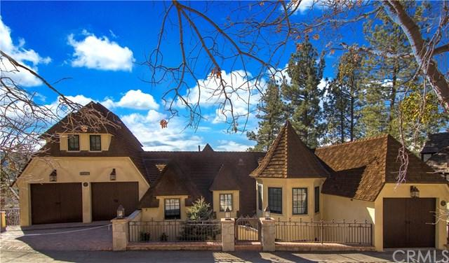 28087 North Shore Road, Lake Arrowhead, CA 92352 (#EV17239911) :: Angelique Koster