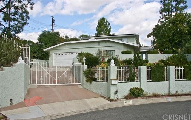 22325 Napa Street, West Hills, CA 91304 (#SR17241154) :: Allison James Estates and Homes