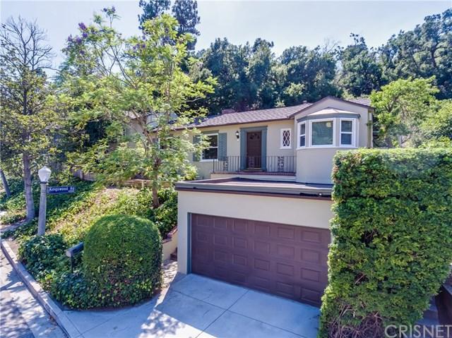 4025 Woodcliff Road, Sherman Oaks, CA 91403 (#SR17241716) :: The Brad Korb Real Estate Group