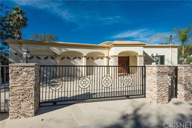 4883 Calderon Road, Woodland Hills, CA 91364 (#SR17242068) :: The Brad Korb Real Estate Group
