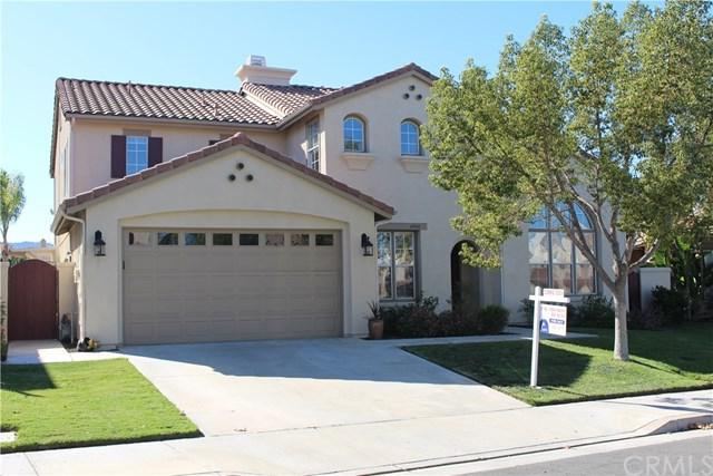 45431 Callesito Altar, Temecula, CA 92592 (#SW17242281) :: Allison James Estates and Homes