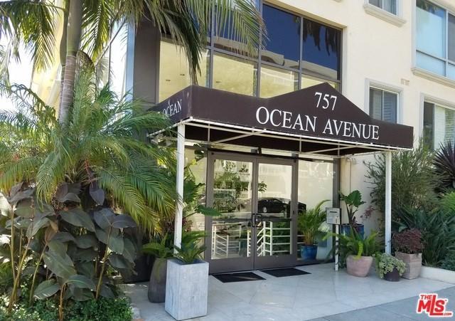 757 Ocean Avenue #109, Santa Monica, CA 90402 (#17291674) :: Realty Vault