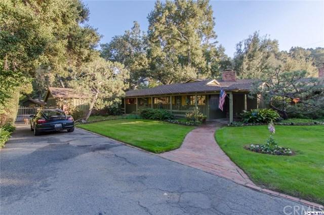 4228 Chula Senda Lane, La Canada Flintridge, CA 91011 (#317007422) :: Fred Sed Realty
