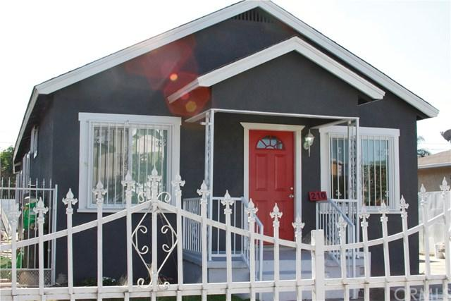 210 E 83rd Street, Los Angeles (City), CA 90003 (#DW17273411) :: Keller Williams Realty, LA Harbor