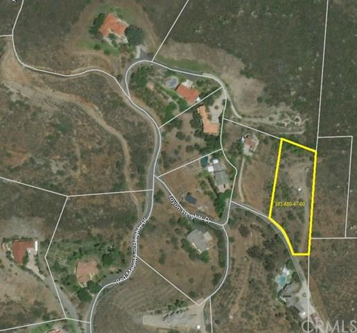 0 Red Mountain Heights Drive, Fallbrook, CA 92028 (#SW17273430) :: The Val Ives Team