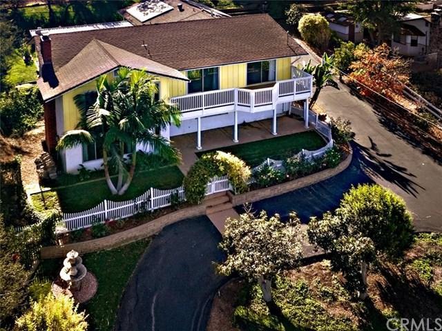 1849 Chapulin Lane, Fallbrook, CA 92028 (#SW17274569) :: Allison James Estates and Homes