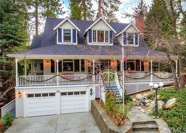 27312 Pinewood Drive, Lake Arrowhead, CA 92352 (#EV17275181) :: RE/MAX Estate Properties