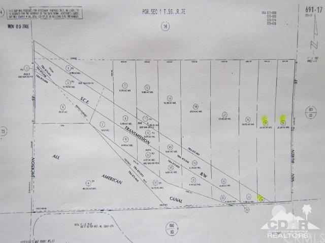 23.08 Acres Vacant Land, Indio, CA 92201 (#217034970DA) :: Fred Sed Group
