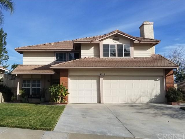 28326 Maxine Lane, Saugus, CA 91350 (#SR18001092) :: Z Team OC Real Estate