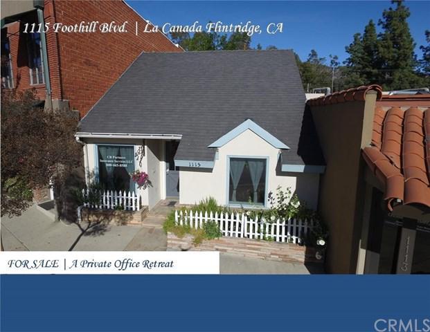 1115 Foothill Boulevard, La Canada Flintridge, CA 91011 (#GD18010515) :: The Brad Korb Real Estate Group