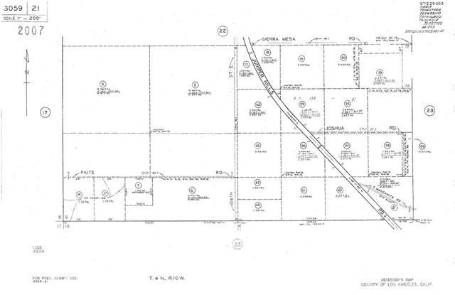 10731 Juniper Hills Rd. Road, Juniper Hills, CA 93553 (#DW18010745) :: RE/MAX Masters