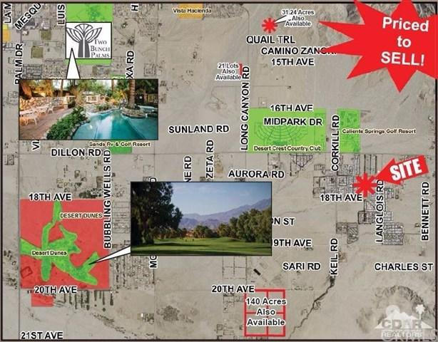 Long Canyon Road, Sky Valley, CA 92240 (#218004178DA) :: Realty Vault