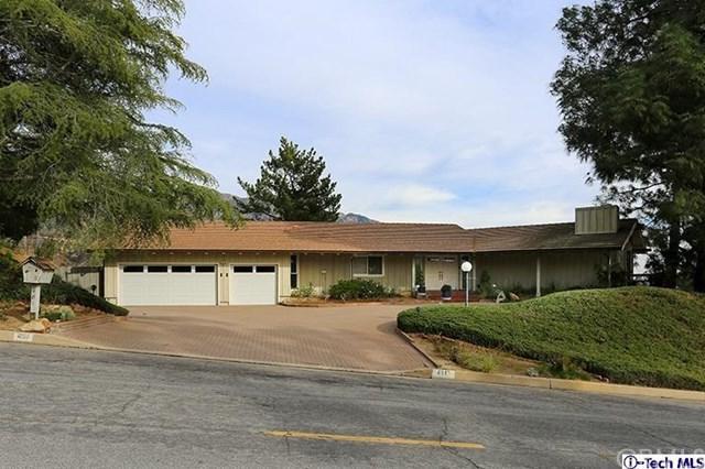 481 Starlight Crest Drive, La Canada Flintridge, CA 91011 (#318000427) :: Fred Sed Realty