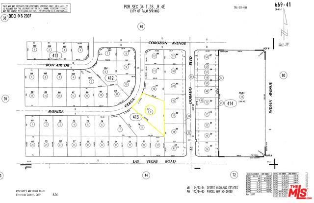 0 W Avenida Cerca, Palm Springs, CA 92262 (#18310264) :: Impact Real Estate