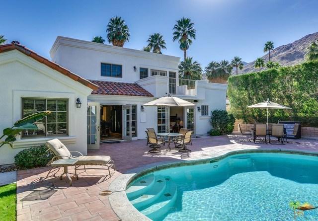 210 W Crestview Drive, Palm Springs, CA 92264 (#18308080PS) :: Barnett Renderos