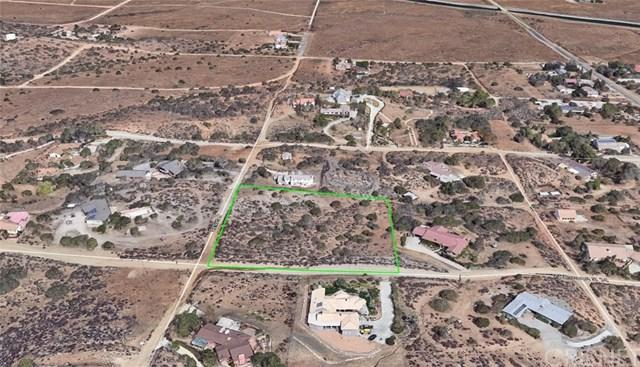1 Vac/Cor Avenue S14/Camares Drive, Palmdale, CA 93551 (#SR18038736) :: Fred Sed Realty